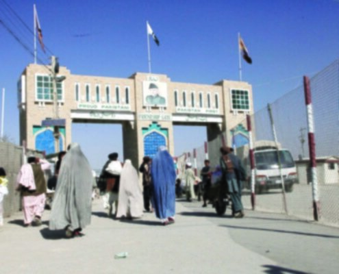 Confine Pak-Afghan-Chaman