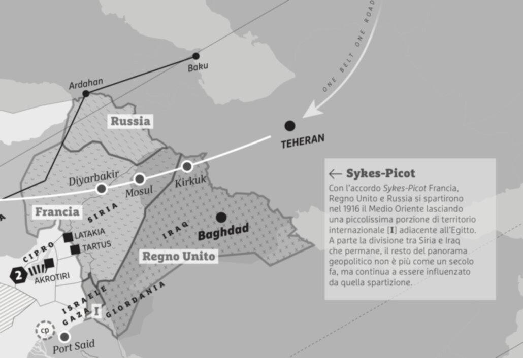 la suddivisione Sykes-Picot