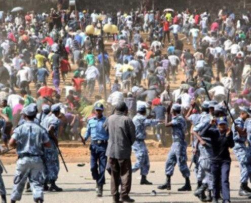Le rivolte dopo l'assassinio di Hundessa