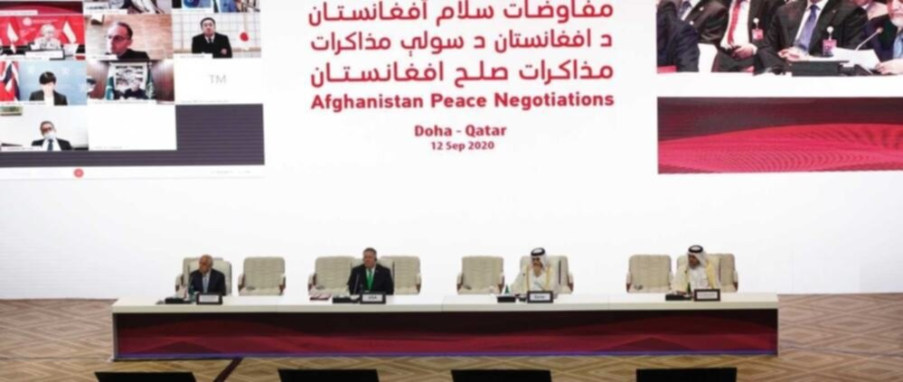 Doha - Qatar: negoziati di pace intra-afgani, 12 settembre 2020