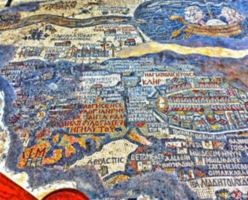 Mosaico di Madaba in Giordania