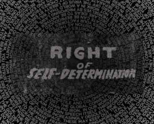 diritto dei popoli all'autodeterminazione