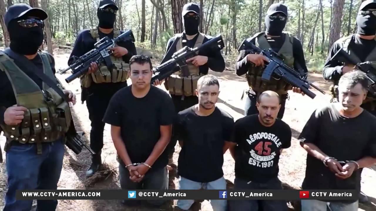 Paramilitari in Mexico