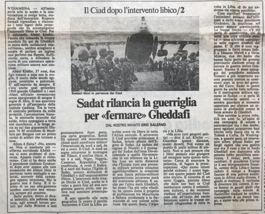 Il Sahel è in ebollizione