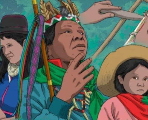 popoli indigeni e sciopero nazionale