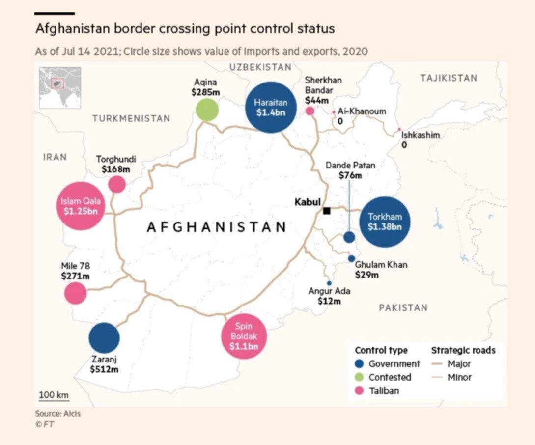 Afghanistan: il quadro interno