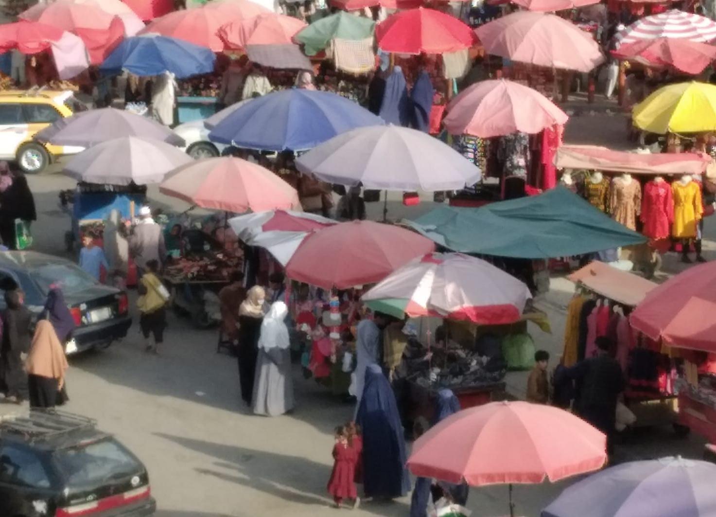 Mercato a Kabul