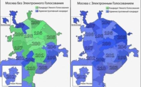Mosca - elezioni 2021, risultati variabili